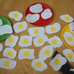 Jajka sadzone – różnicowanie głosek syczących