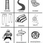 Logopedyczne kółko i krzyżyk [dr] w nagłosie