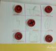 Logopedyczne kółko i krzyżyk – wersja rysowana