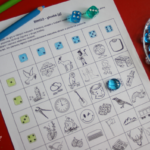 Bingo z kostkami – głoska [g]