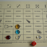 Głoska [dz] – gra z kostką