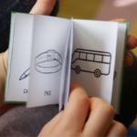 Książeczka logopedyczna z obrazkami – głoska [s] w wygłosie