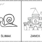 Książeczka logopedyczna z obrazkami – głoska [k]