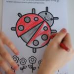 Biedronka – ćwiczenie pionizacji języka