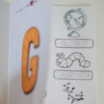 Książeczka z głoską [g]